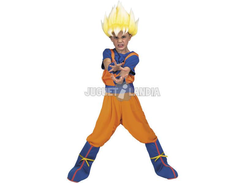 Disfraz Niños XXL Dragon Ball Super Yo Quiero Ser Goku Super Saiyan