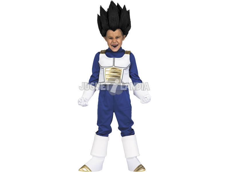 Disfraz Niños M Dragon Ball Super Yo Quiero Ser Vegeta