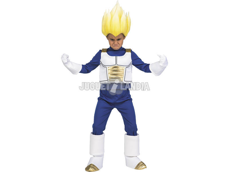 Disfraz Niños M Dragon Ball Super Yo Quiero Ser Vegeta Super Saiyan