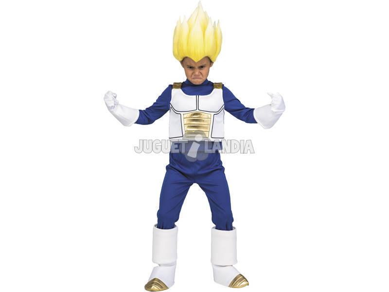 Disfraz Niños XXL Dragon Ball Super Yo Quiero Ser Vegeta Super Saiyan