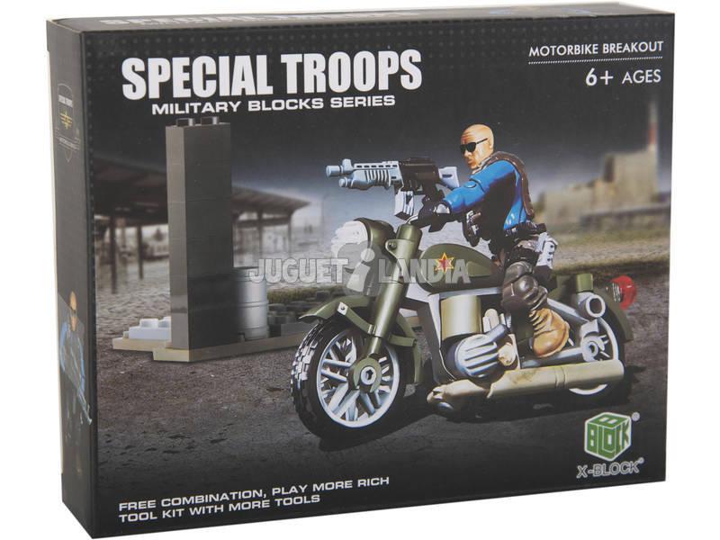 Tropas Especiales Moto con Accesorios Bloques 75 Piezas