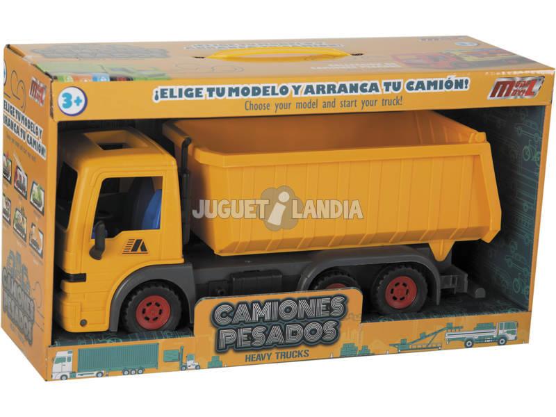 Caminhão Basculante 32 cm. Fricção