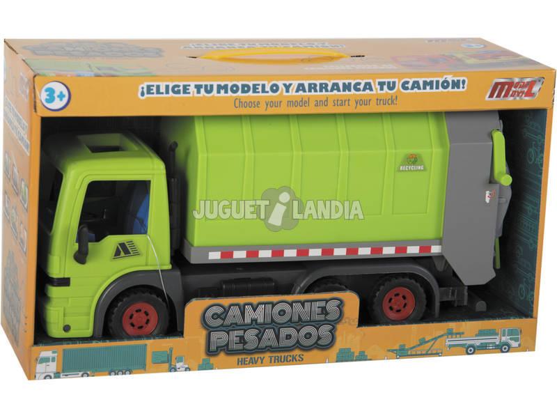 Camión de Recogida de Residuos Sólidos Urbanos 33 cm.