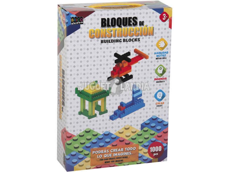 Caja 1000 Bloques Construccion