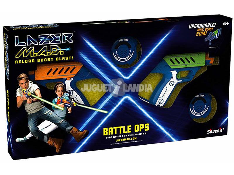 Conjunto de 2 Pistolas Laser World Brands 86845