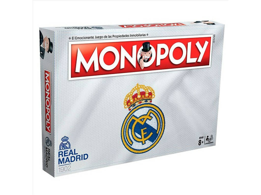 Monopoly Real Madrid Eleven Force 10186