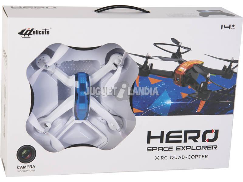 Dron Radio Control 6 Canales 2.4 g con Camara Teledirigido