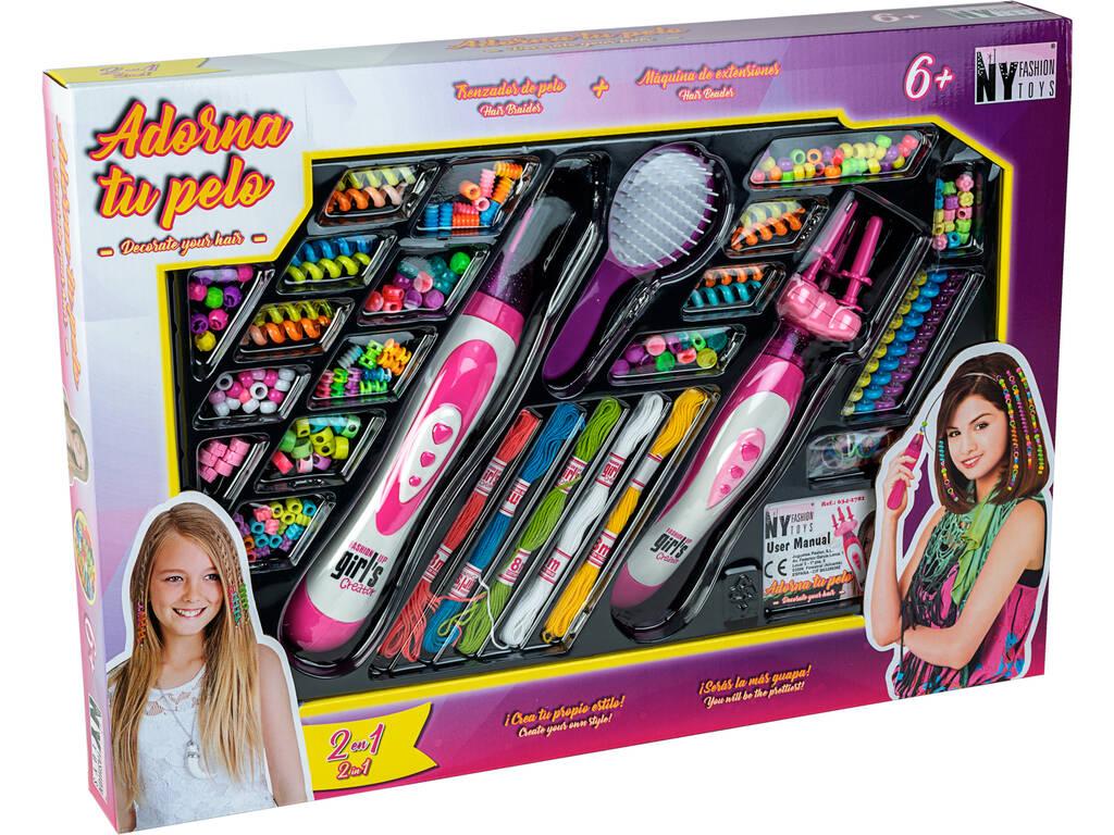 Abbellisci i tuoi capelli con Macchinetta per Treccine ed Extensions