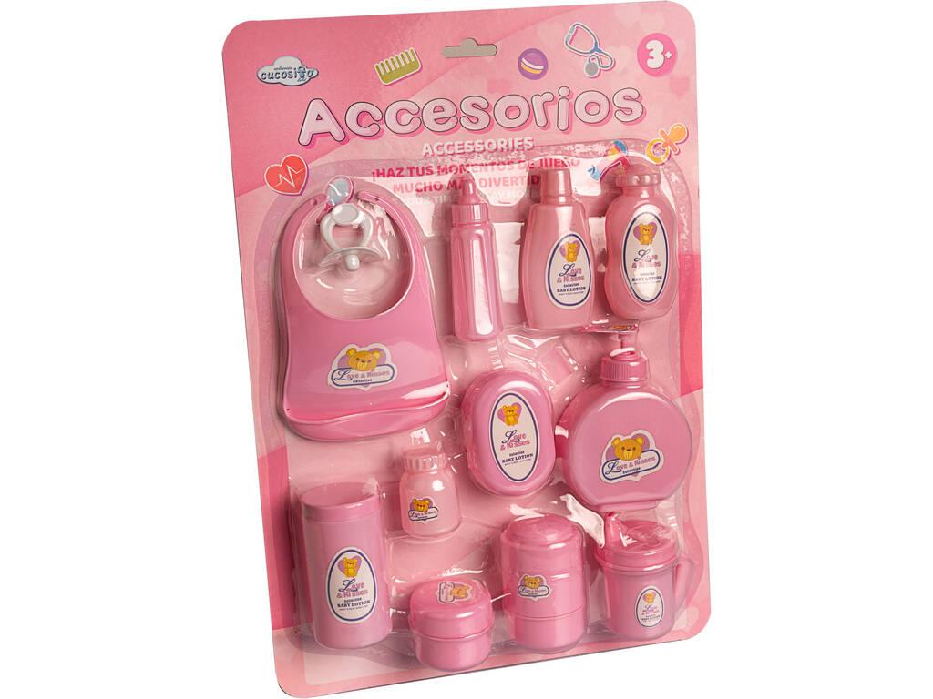 Accesorios Baño y comida Bebé 12 piezas