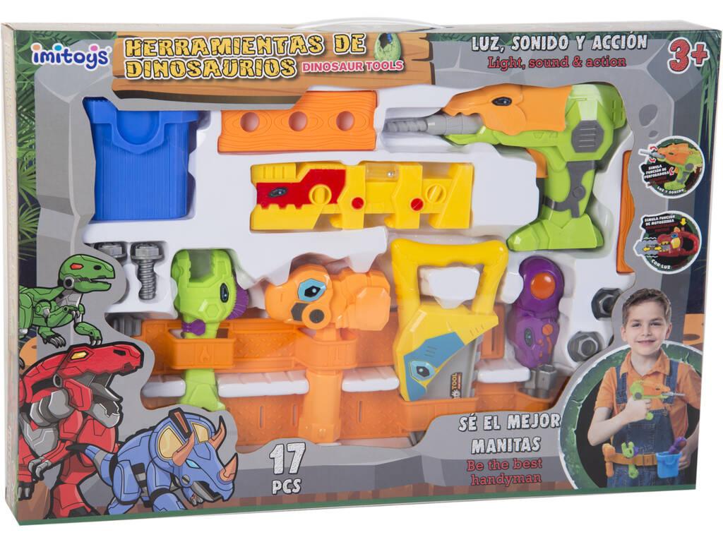 Set de Herramientas Dinosaurio -taladro-