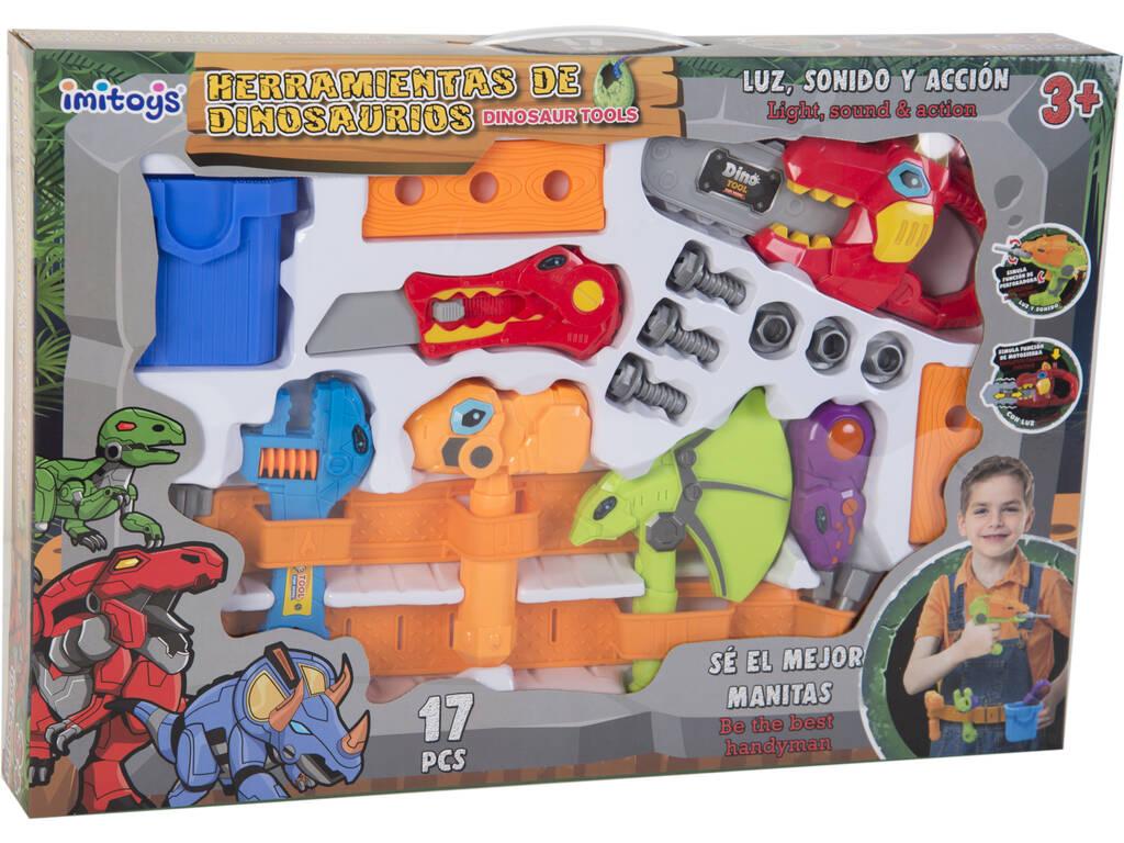 Set de ferramentas Dinossauro -motosserra-