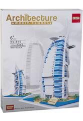 Blocchi Costruzioni Burj Al Arab Hotel 2342 pezzi