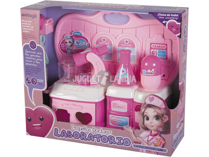 Laboratorio con Accesorios Luces y Sonidos Rosa