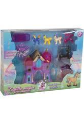 Castillo Mágico de los Unicornios con Accesorios