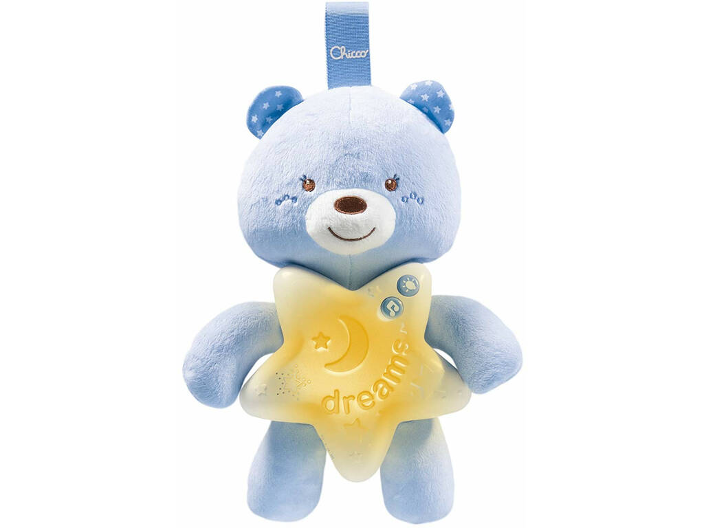 Panneau de Berceau Ourson Bonne Nuit Bleu Chicco 91562