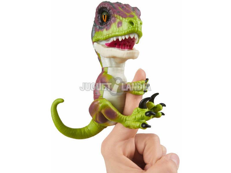 Fingerlings Untamed Baby Dino Velociraptor Stealth WowWee 3782