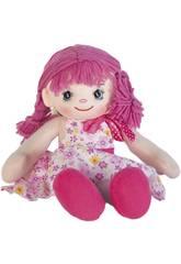 Bambola di Pezza Vestito Rosa 40 cm
