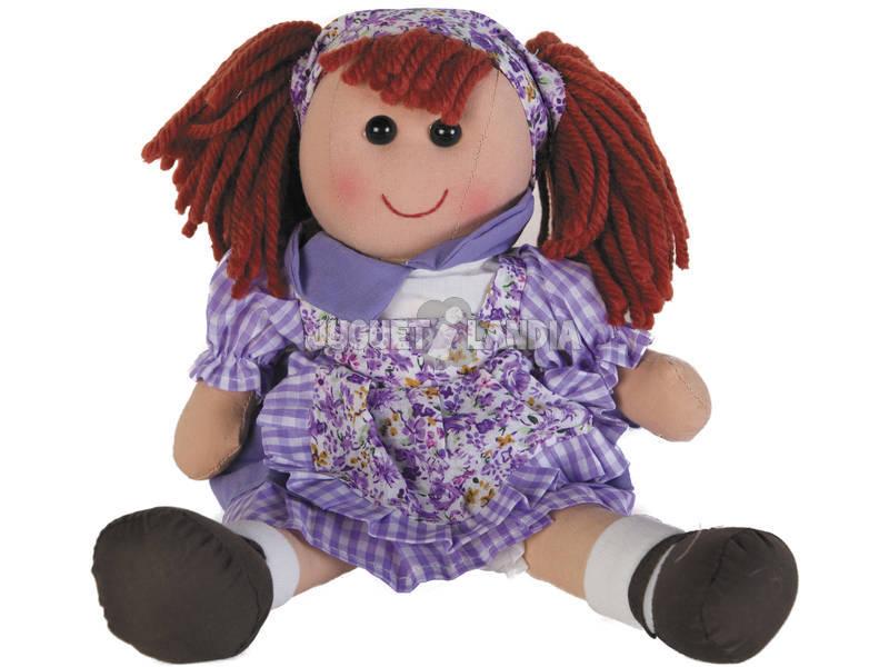 Bambola di pezza Abito Lilla 40 cm