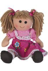 Muñeca Trapo Rosa Pana 50 cm.