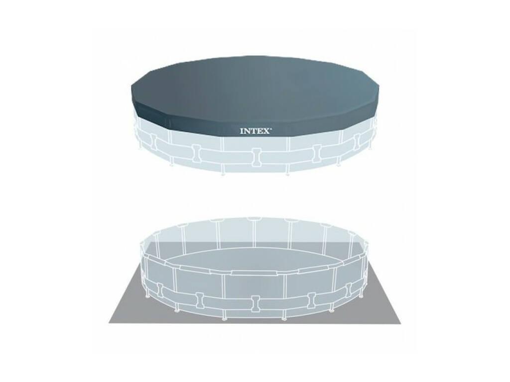 abnehmbarer pool metal frame pool 457x122 cm intex 28242. Black Bedroom Furniture Sets. Home Design Ideas