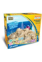 Sabbia per Modellare Mondo Marino 600 grammi