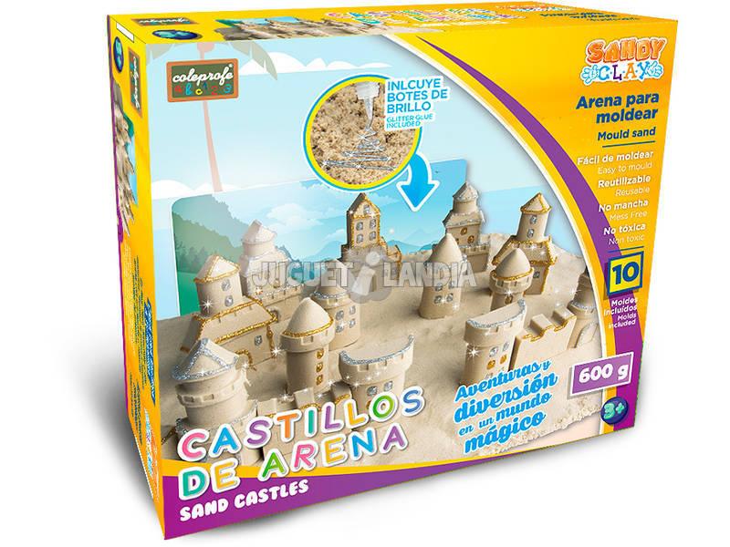 Sabbia per Modellare Castello 600 grammi