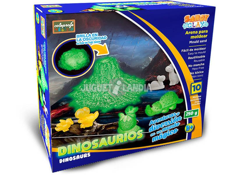 Areia Para Moldar Dinossauro 250 gramas