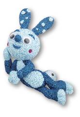 imagen Espuma de Foam Para Moldear Conejito Azul