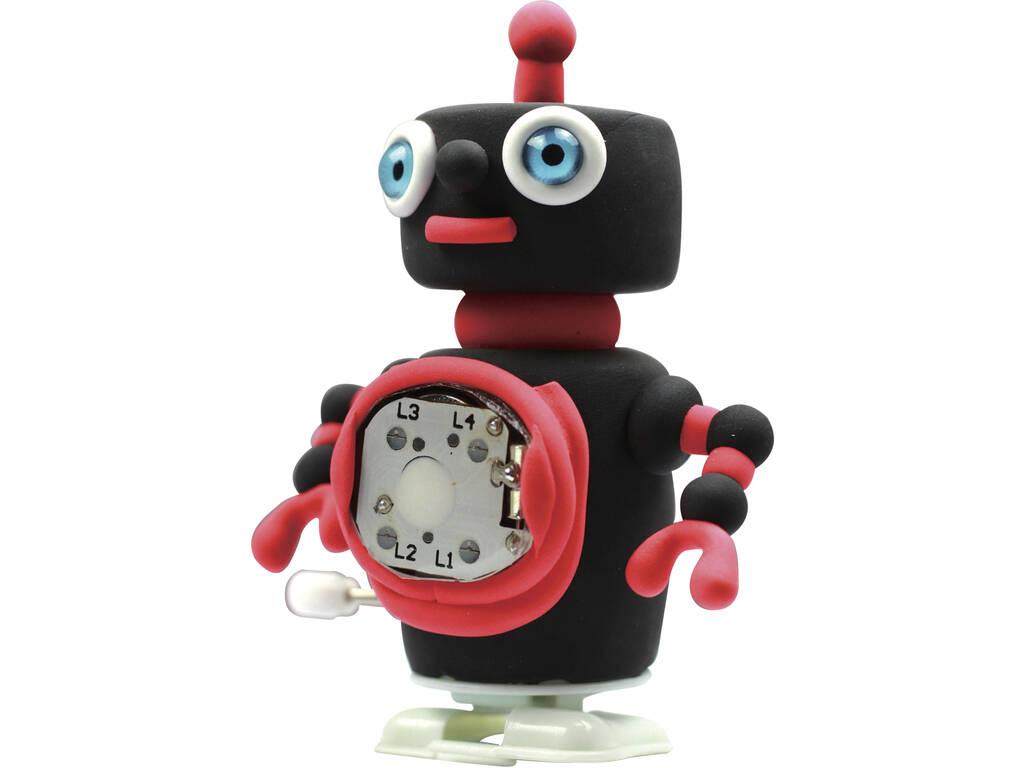 Modella il Tuo Robot Blacky con Pasta Modellabile