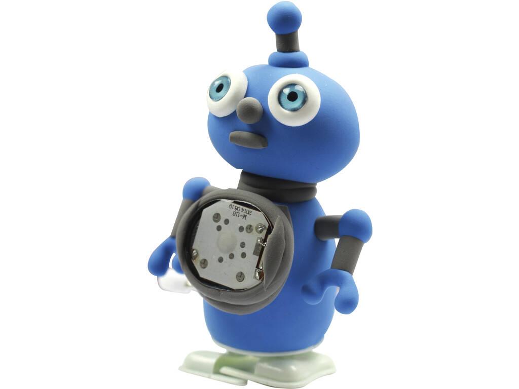 Moldea Tu Robot Blues con Pasta Moldeable