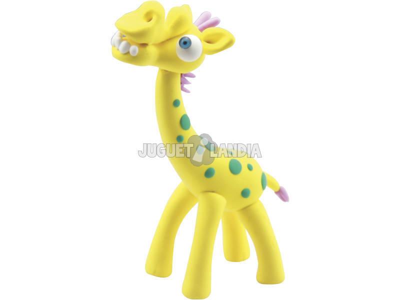 Molda a Tua Girafa com Pasta de Moldar
