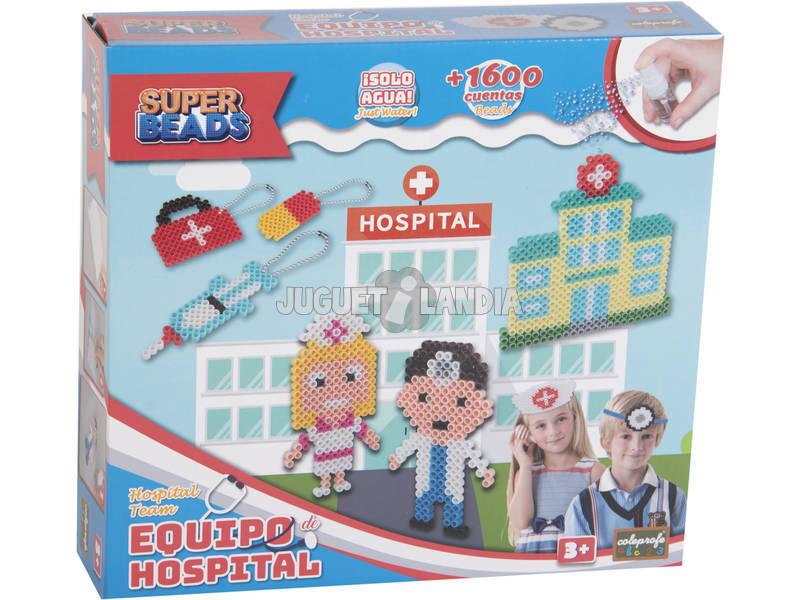 Super Beads Equipamento Hospitalar 8 em 1 + 1600 Contas