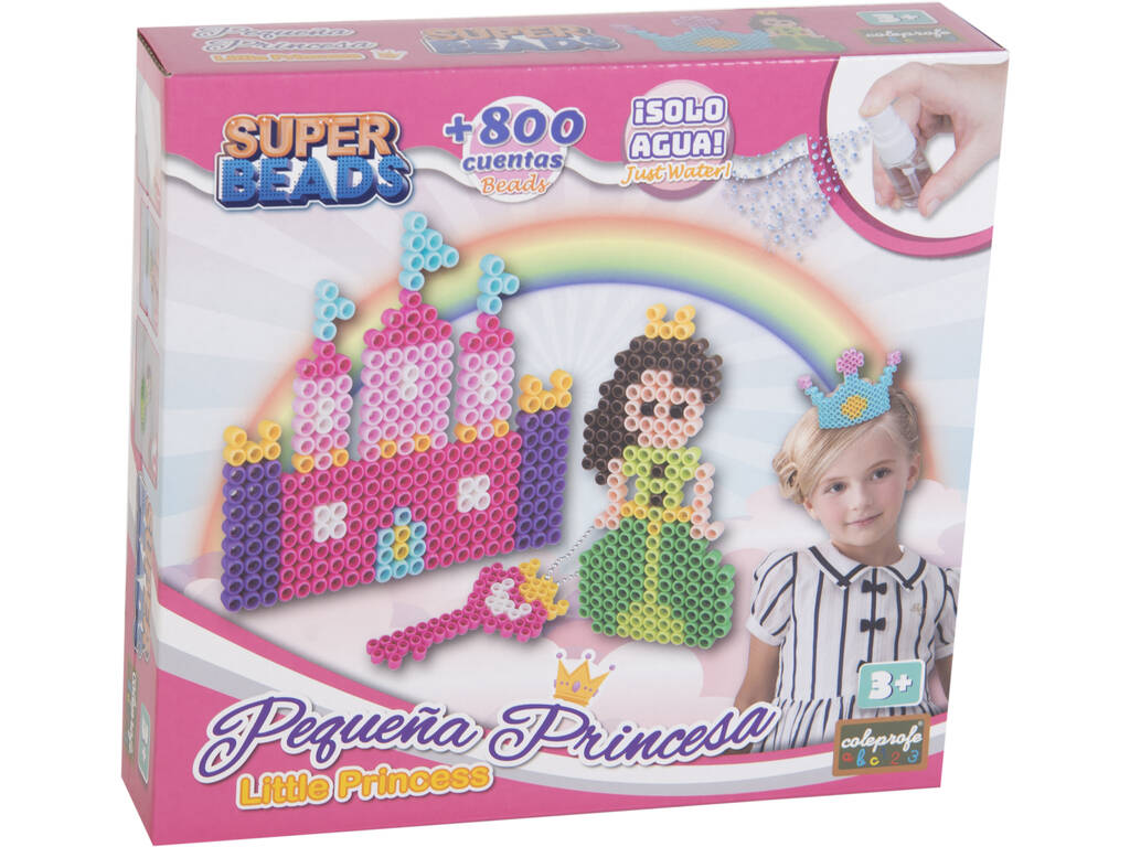 Super Beads Piccola Principessa + 800 Perline