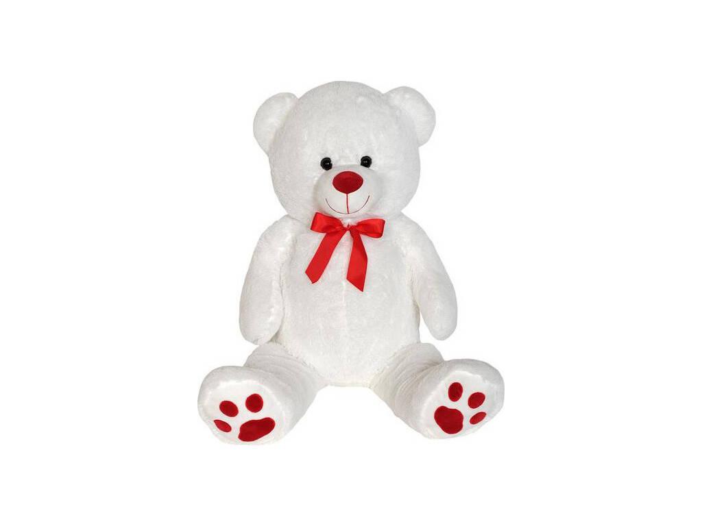 Pelúcia Urso Branco de 100 cm.