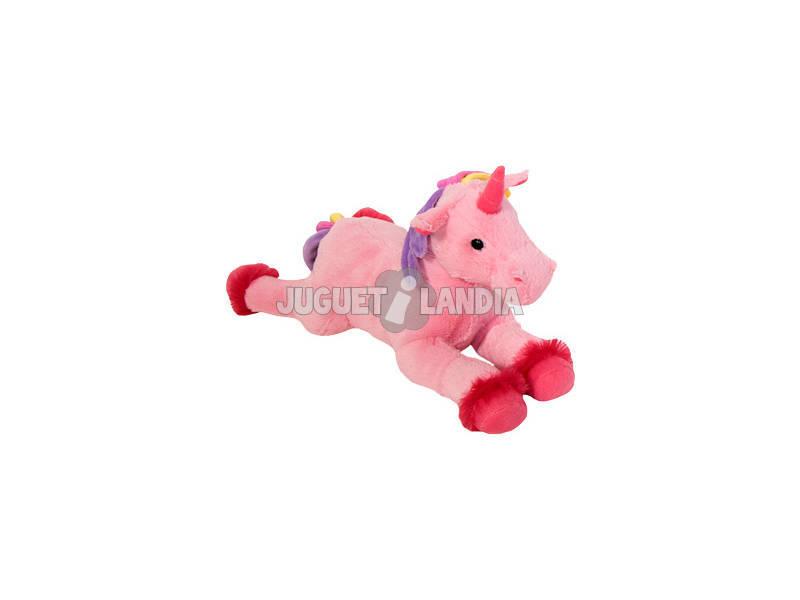Peluche Unicornio 43 cm. surtido rosa blanco