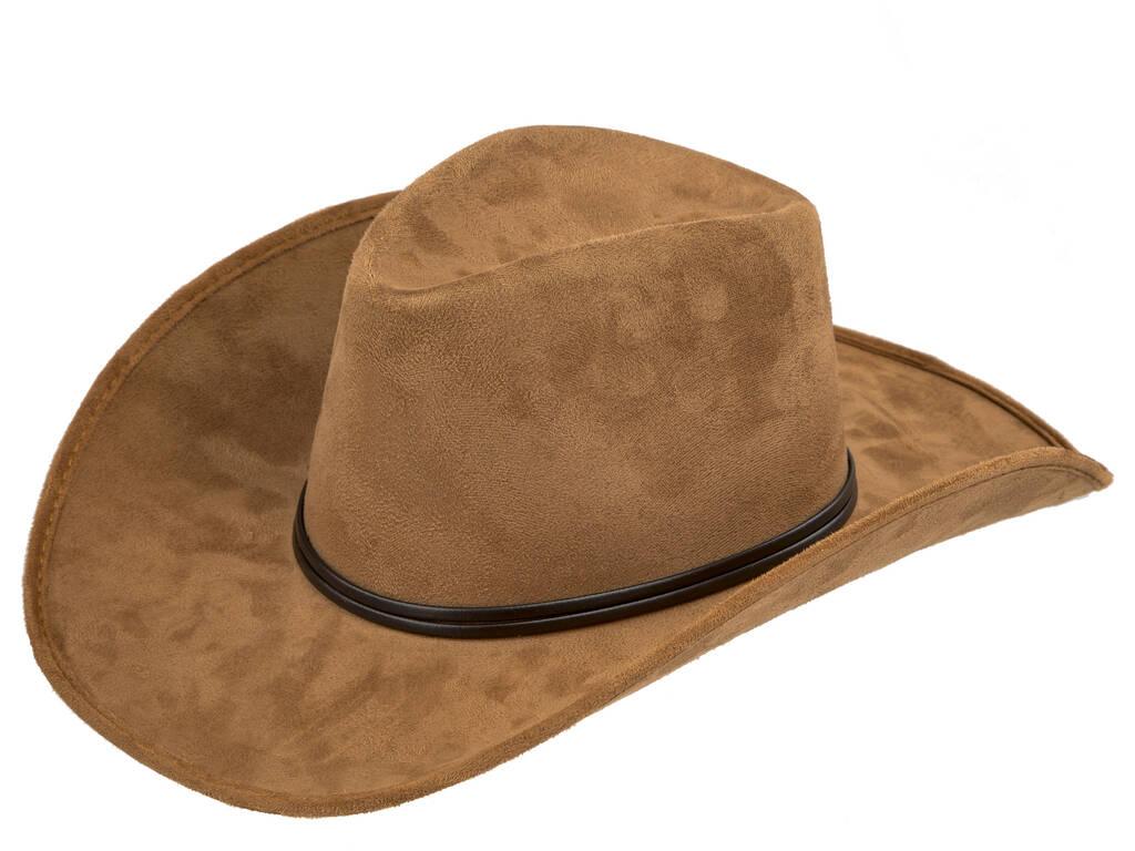 Sombrero Adulto Vaquero Marrón 59 cm.