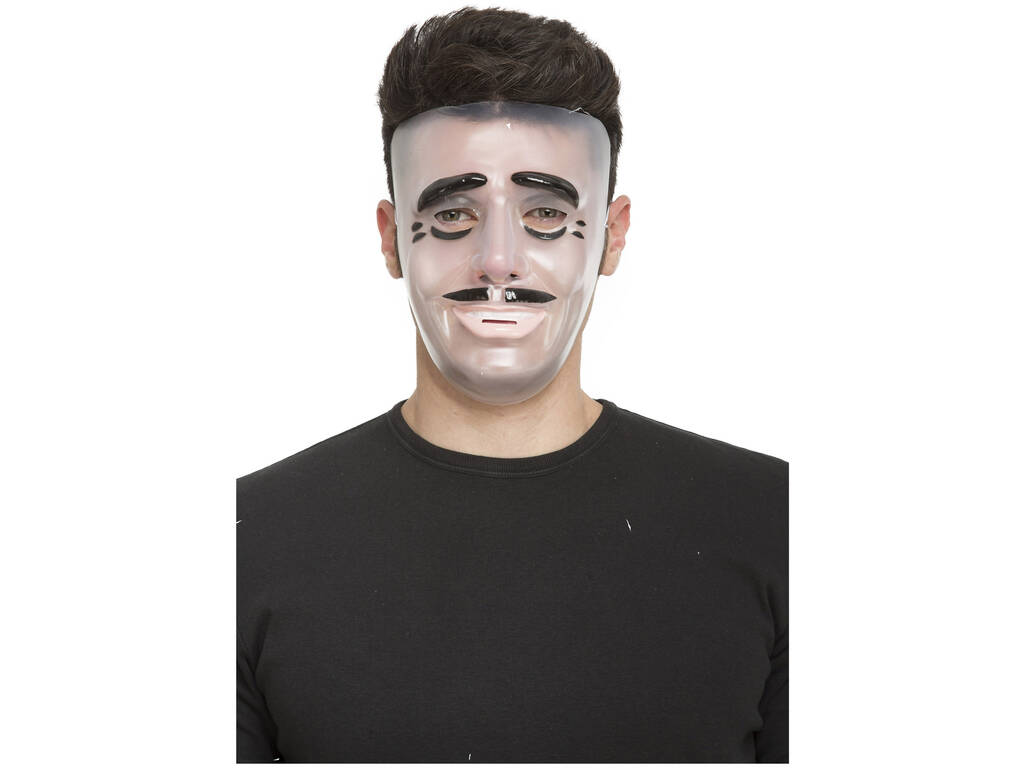Maschera Adulto Trasparente Uomo