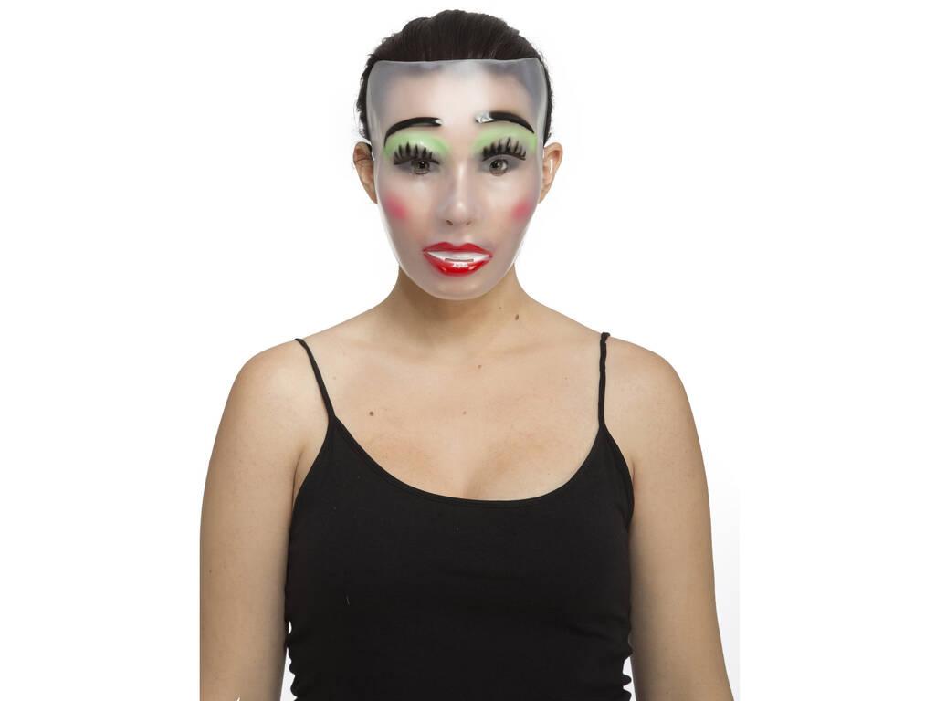 Maschera Adulto Trasparente Donna