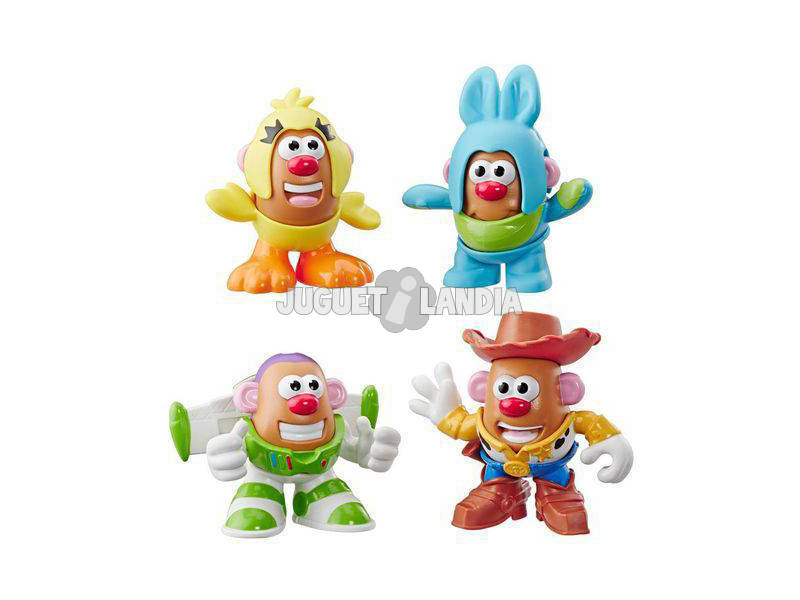 Toy Story 4 Mr. Potato Mini Pack 4 Figurines Hasbro E3065
