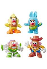 Toy Story 4 Mr. Potato Mini Pack 4 Figure Hasbro E3065