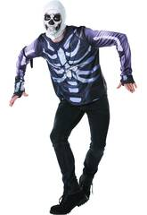 imagen Camiseta Skull Trooper Fortnite Talla XL