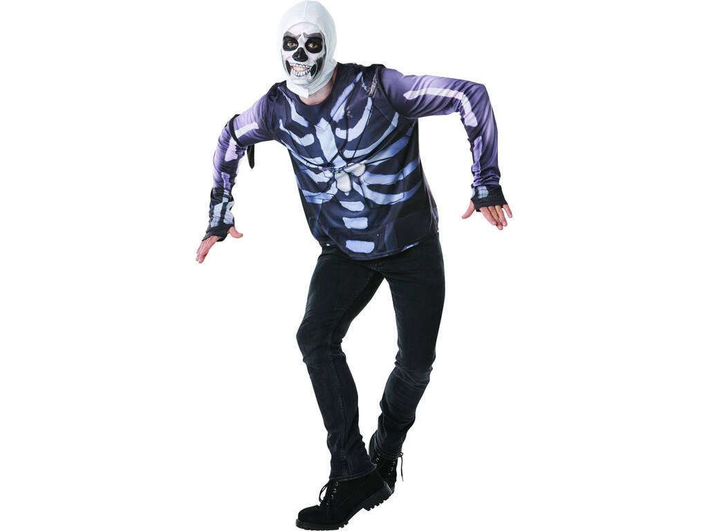 Maglietta Skull Trooper Fortnite Taglia Teen