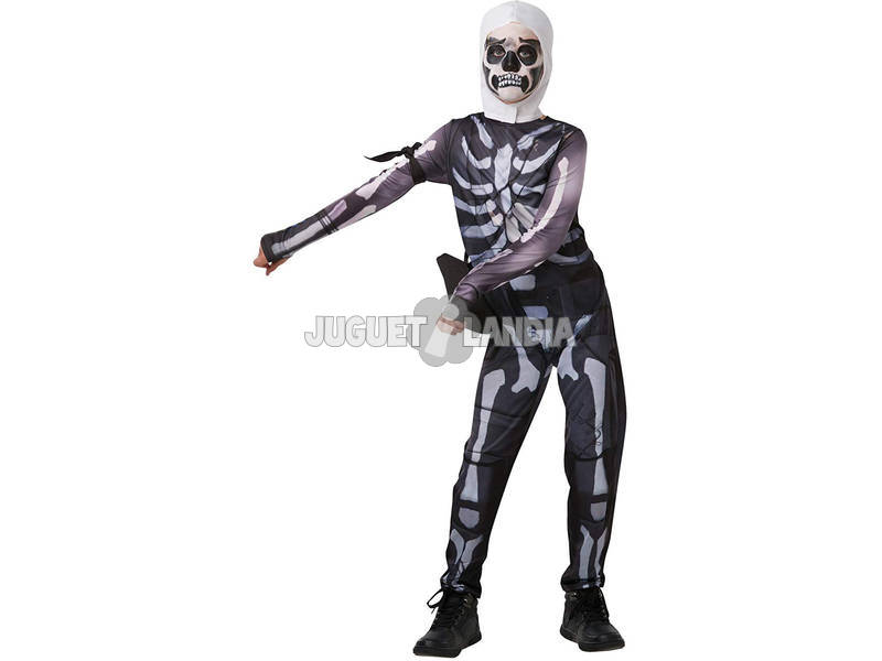 Disfraz Niño Skull Trooper Fortnite Talla Tween