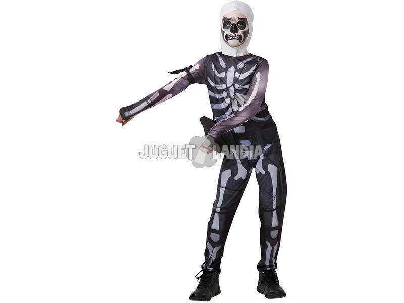 Disfarce Menino Skull Trooper Fortnite Tamanho Teen