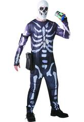 imagen Disfraz Adulto Skull Trooper Fortnite Talla M