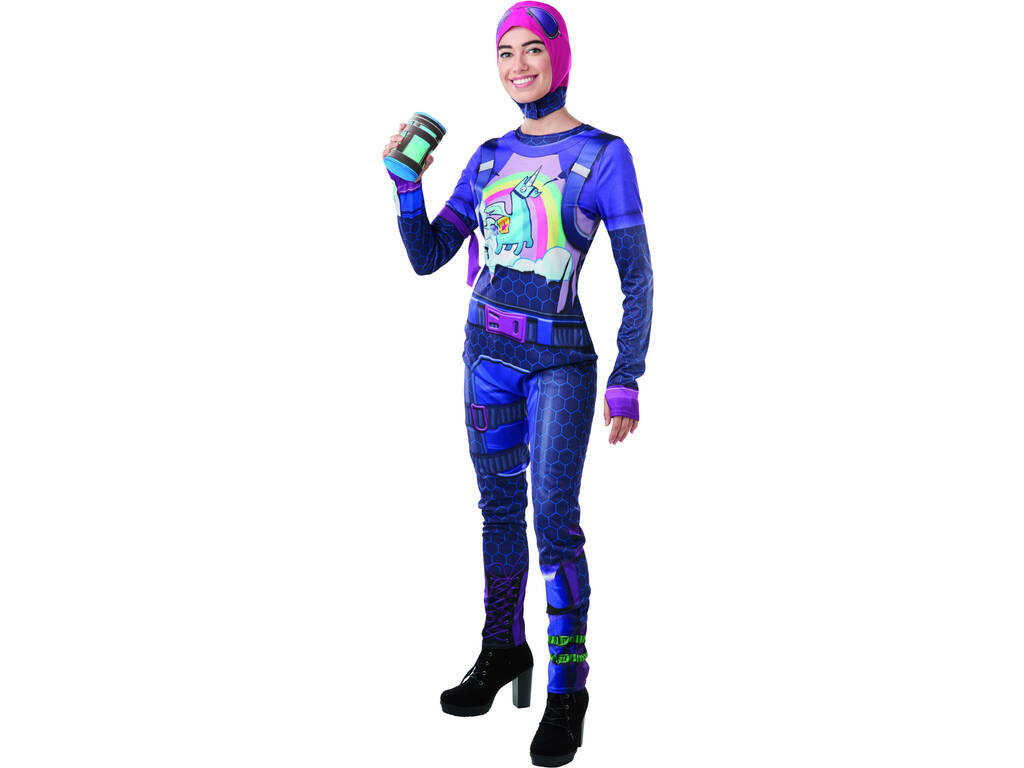 Costume Adulto Brite Bomber Fortnite M