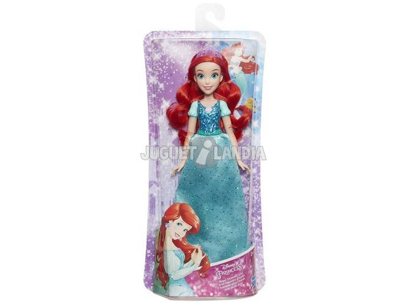 Disney Princess Principessa Disney Ariel Brillante Real Hasbro E4156EU40