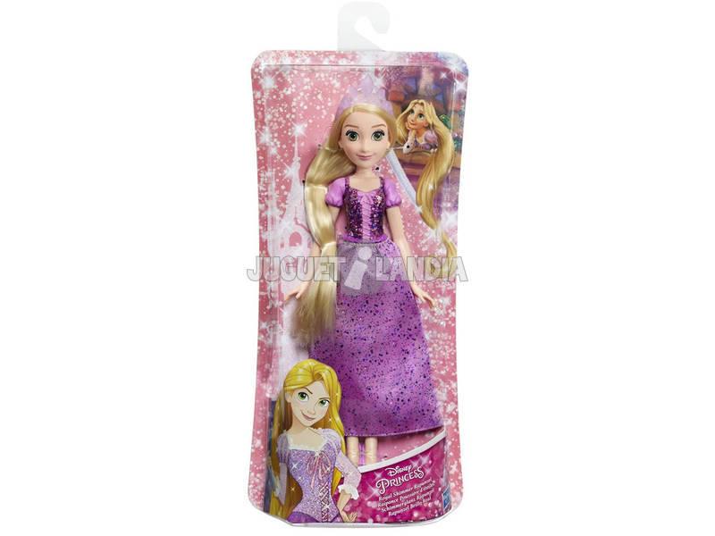 Muñeca Princesas Disney Rapunzel Brillo Real Hasbro E4157EU40