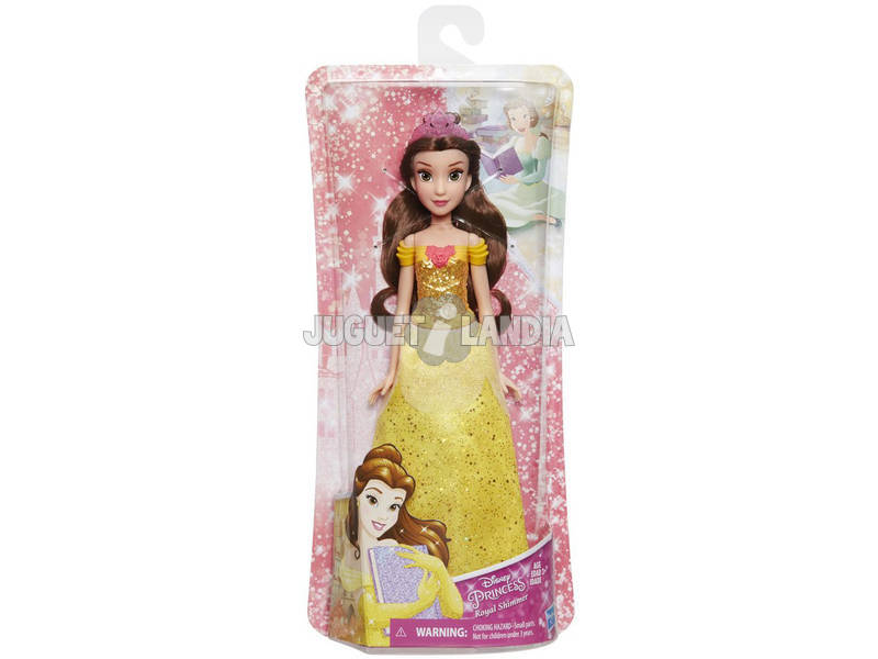 Muñeca Princesas Disney Bella Brillo Real Hasbro E4159EU40