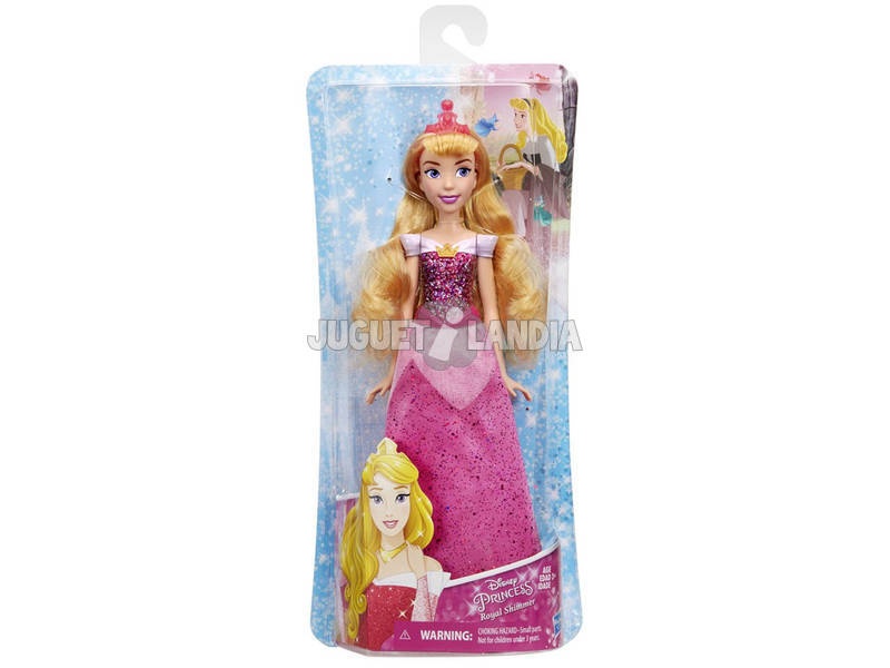 Bambola Principessa Disney Aurora Brillo Reale Hasbro E4160EU40